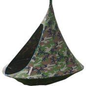Produktfoto - das Double in Camouflage-Farbe - fotografiert mit seitlichen Blick auf den Eingang